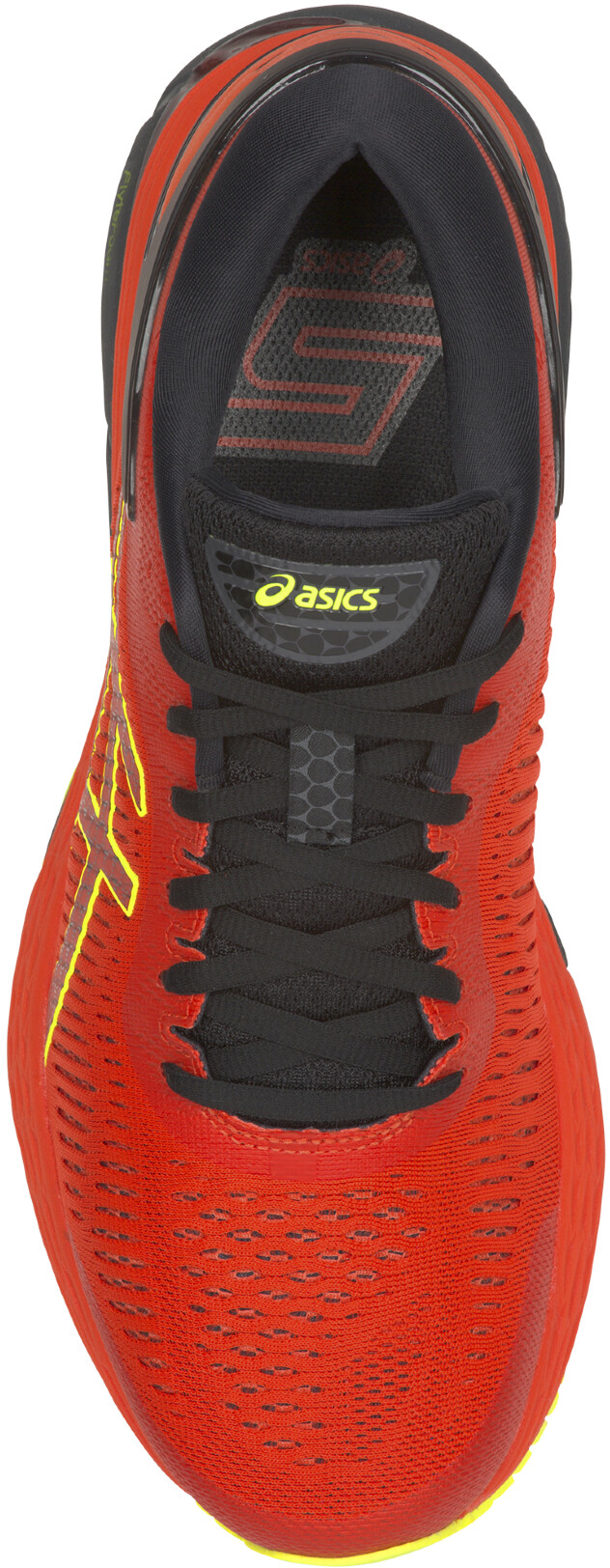 d92704bb69c asics Gel-Kayano 25 Shoes Men Cherry Tomato/Safety Yellow   campz.ch